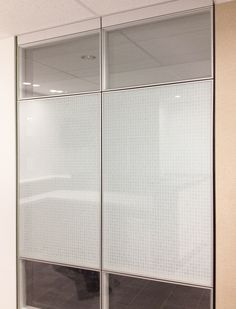 Altos wall system with the client's custom binary film coating!