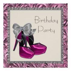 50th Birthday Invitations, 26,000+ 50th Birthday Invites & Announcements - Zazzle UK