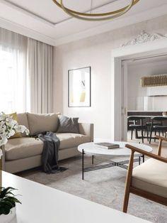 Contemporary, Elegant & Cosy Home Design Project in Ukraine