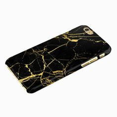 iPhone 6s 6 Case 4.7 Marble Black & Gold Case for Iphone 5s 4s Iphone 6s 6 Plus