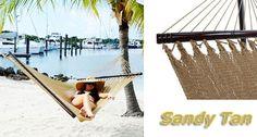 Tropic Island Sandy Tan Caribbean Hammock