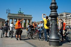 Small-Group Berlin Highlights Bike Tour Discover Berlin on a bike in a 3.5-hour tour and get to know the city's highlights. Your knowledgeable bike guide will make sure you will have an unforgettable Berlin experience.Meet your guide at the Berlin district Prenzlauer Berg, from where your tour will start. Get to know the Prenzlauer Berg neighborhood first in the beginning of your guided tour and gain an insight of living in Berlin, its history and of course its future as the t...