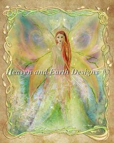 Garlic- Heaven and Earth Designs cross stitch