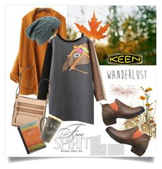 """""""So Fresh and So Keen: Contest Entry"""" by judysingley-polyvore ❤ liked on Polyvore featuring Keen Footwear, Whiteley, Bueno and keen"""