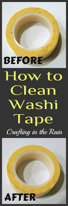 How to Clean Your Washi Tape - Crafting in the Rain Washi Tape Cards, Washi Tape Diy, Masking Tape, Washi Tapes, Tape Crafts, Diy Crafts, Tapas, Washi Tape Storage, Tape Dispenser