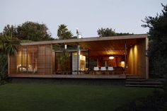 Bethells Bach - Two-Bedroom Bach at the Beach by Herbst Architects (1)