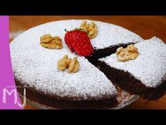 Las Recetas de MJ: TARTA DE NUECES Y CHOCOLATE (SIN GLUTEN, SIN LACTOSA)   Videoreceta