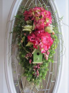 Summer Wreath Door Wreath Country Wreath by DoorWreathsByDesign, $54.95