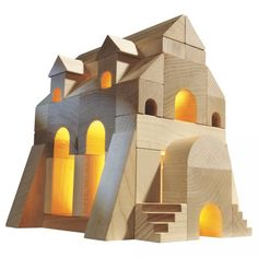 Discover our Haba toys from Germany. From beautiful baby clutching toys to intricate wooden blocks, Haba toys make the ultimate gift for any lucky child! Wooden Building Blocks, Wooden Blocks, Building Toys, Architecture Romane, Historic Architecture, Monuments, Romanesque Art, Block Area, Woodworking