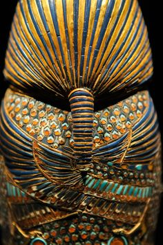 "ancient-egypts-secrets: ""From King Tut exhibit. Photo: Scott Engelhardt """