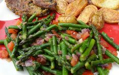 Wok, Green Beans, Buffet, Healthy Recipes, Healthy Foods, Good Food, Low Carb, Vegetarian, Vegetables