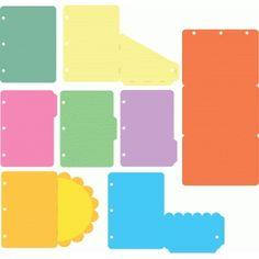 Silhouette Design Store: travel album pages