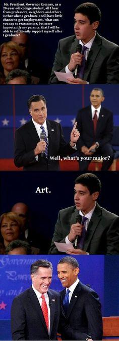romney, Obama, Barack, Mitt, Art, major
