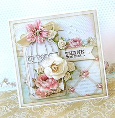 {Thank You for...} card  *The ScrapCake* - Scrapbook.com