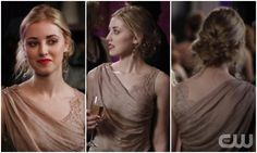 Gossip Girl Look I Want to Steal: Red Lips and a Gorgeous Updo