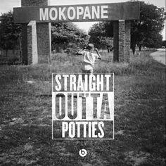 Straight Outta POTTIES!