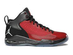 sports shoes a4e78 7d3ca Jordan Fly 23 GS - Chaussure Baskets Nike Air Jordan Pas Cher Pour Femme  Rouge Noir