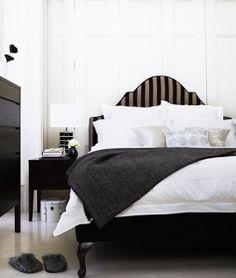 Scrapbook: Bold Stripes in Black & White