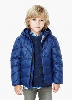 Girls Dark Navy Blue Padded Coat | Coats Blue coats and Navy blue