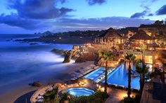 Property Views at Twilight - Esperanza resort  Mexico
