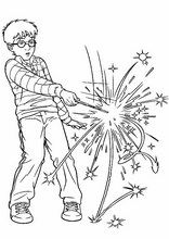 Print coloring pages Harry Potter