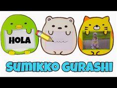 Manualidades fáciles con pocos materiales\Porta retrato o pizarrón(sumikko gurashi) - YouTube