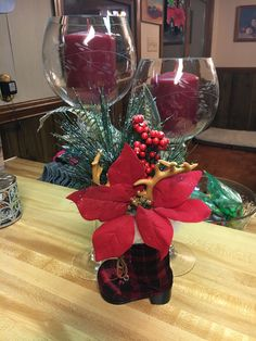 Christmas Holidays, Table Decorations, Furniture, Home Decor, Christmas Vacation, Decoration Home, Room Decor, Home Furnishings, Home Interior Design