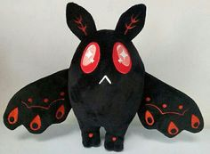 Fairylogue Press is the joint venture between Isabelle Melançon and Megan Lavey-Heaton, the co-creators of the webcomic Namesake. Polymer Clay Kawaii, Polymer Clay Animals, Kawaii Plush, Cute Plush, Softies, Plushies, Felt Monster, Softie Pattern, Mothman