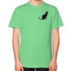 Cat Lover Men's American Apparel Fine Jersey
