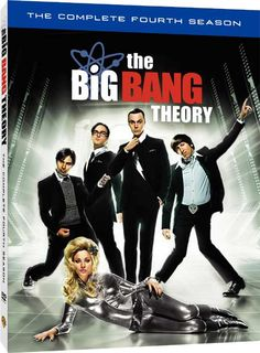The Big Bang Theory - Formal Announcement of 'The Complete 4th Season' DVD and Blu: Date, Extras, More!