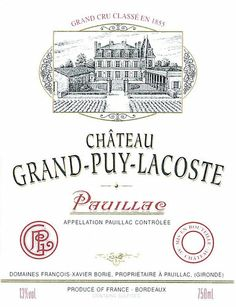Pauillac Grand Puy Lacoste