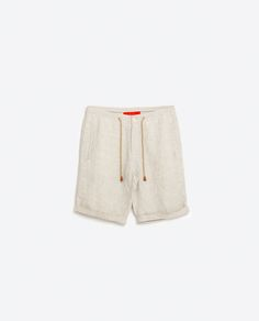 Image 6 of LINEN BERMUDA SHORTS from Zara