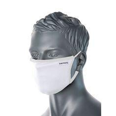 Máscara textil de 3 capas antimicrobiana reutilizable Cara Fresca, Nose Strips, Facial, Safety Mask, Textiles, Microorganisms, Lining Fabric, Cotton Fabric, Poly Bags
