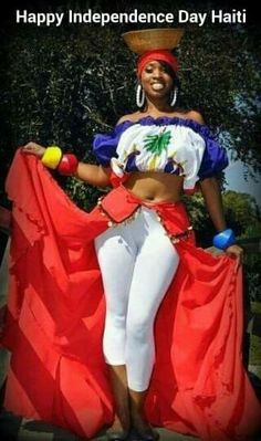 love how Haitian women always wear big puffy sleeves on their dresses on shirts. Haitian Flag, Haitian Art, We Are The World, People Of The World, Beautiful Black Women, Beautiful People, Haiti History, Haiti News, West Indian