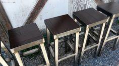 Urban Industrial Metal Bar Stools No.004 $140