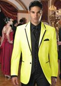 Look at our stylish collection of tuxedo vest. Yellow tuxedo is finest collections which look great and classy when worn. There is a wide range of yellow tuxedos available which is capable to match any man's formal standards. Black Tuxedo Jacket, Tuxedo Vest, Yellow Suit, Black N Yellow, Tuxedo Colors, Prom Tuxedo, Formal Suits, Wedding Suits, Mens Suits