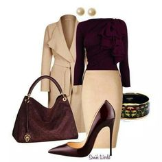 Keeping it classy! Love this look for fall/winter!