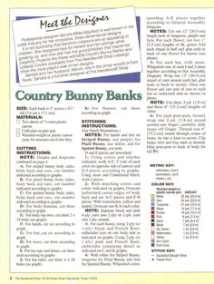 COUNTRY BUNNY BANKS by SANDRA MILLER-MAXFIELD 2/4