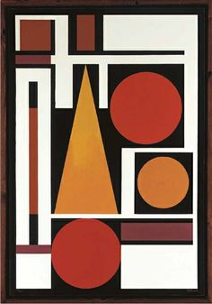 Auguste Herbin [French artist, 1882-1960]   Bien [1952]