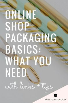 "When I was getting started with my business, one of the biggest challenges that I ran into was figuring out how to package my orders and where to purchase packaging supplies. I thought that a post covering all of the basics might be helpful for those of you facing the same thing. Let's get started! Here's an idea of what you will need, along with photos of what I use for my shop... 1. Inner Packaging This is the more ""pretty"" packaging for your items. If your item was being sold in a ..."