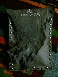 Cool leather for mimilamour jewelry...