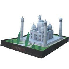 Taj Mahal maqueta de Canon