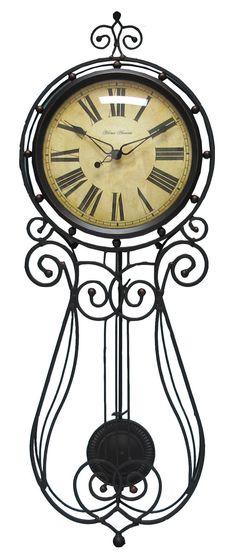 8X18 Metal Mckinkley Clock