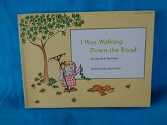 vintage 1975 I Was Walking Down the Road book by Sarah E. Barchas by TheVintageKeepers on Etsy