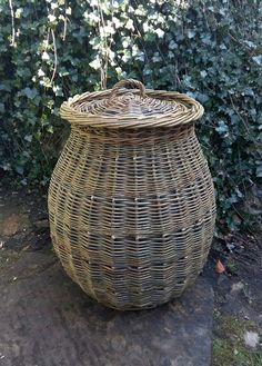 Alibaba linen basket by John Cowan Baskets