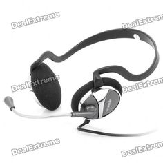Model: CiC-569 - Color: Black + silver - Built-in speakers and microphone - 3.5mm audio and microphone plugs - Impedance: 32ohm +/- 15% - Frequency Response: 20Hz~20000Hz - Connection Cable Length: 2.3 +/- 0.3m http://j.mp/1ljQgi8
