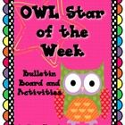 Celebrate each child with this OWL Star themed Star of the Week set. This comes with EVERYTHING you need. Check out the adorable preview.  You also...