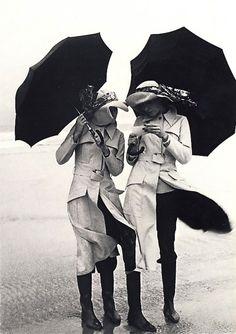 Windy! Photo by Guy Bourdin, 1971.Guy Louis Bourdin, born Guy Louis Banarès, was a French fashion photographer.