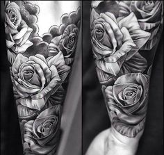Black and Gray Tattoo for Men