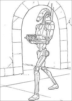 Star Wars Tegninger til Farvelægning 51